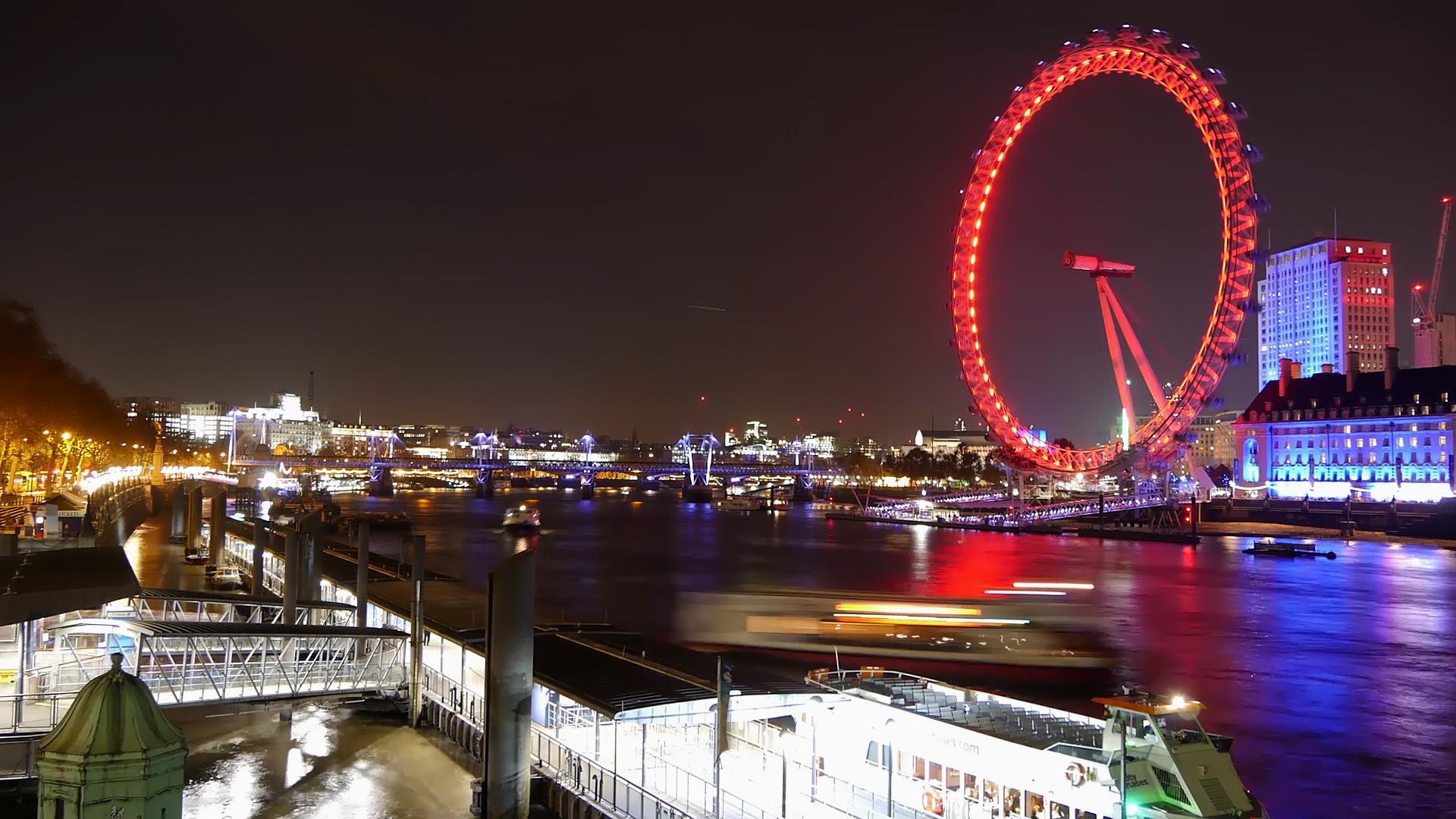 Timelapse 'London Eye and Big Ben'