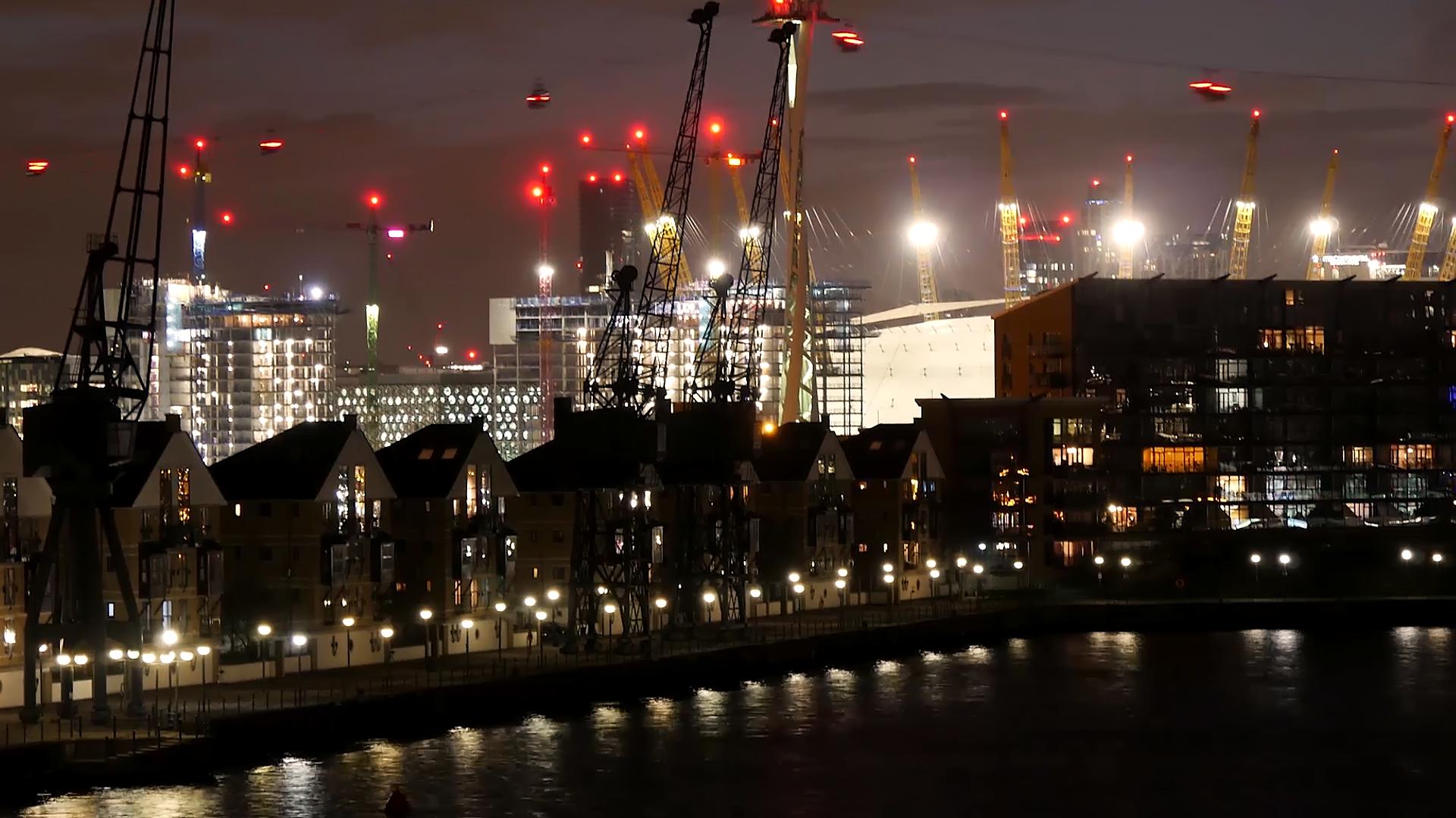 Timelapse 'London Skyline'